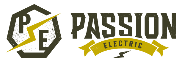 Passion Electric Logo - Wide